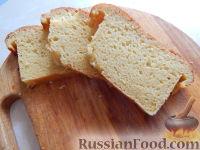 Фото к рецепту: Кукурузный хлеб на бездрожжевой закваске