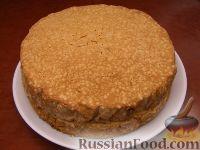 Фото приготовления рецепта: Ленивый бисквит - шаг №4