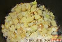 Фото приготовления рецепта: Суп-пюре из шампиньонов - шаг №4