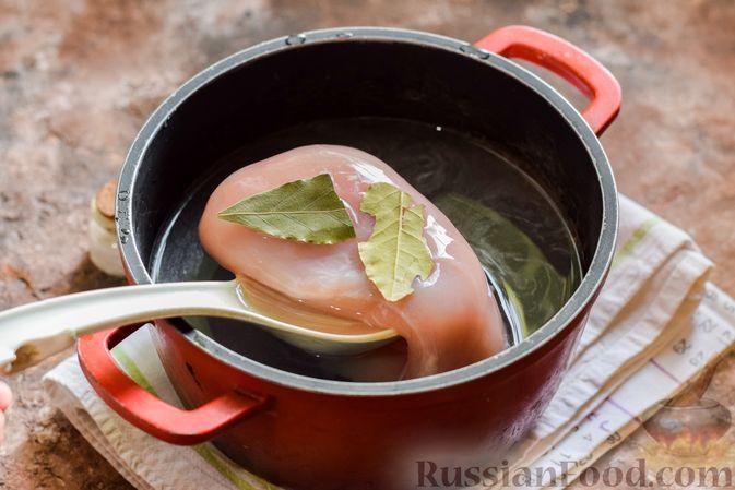 Фото приготовления рецепта: Мясное рагу с грибами, баклажанами, картофелем и сладким перцем - шаг №2