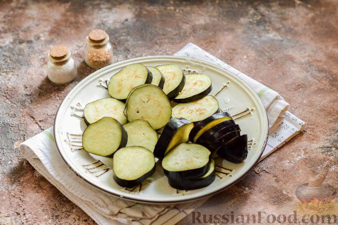 Фото приготовления рецепта: Мясное рагу с грибами, баклажанами, картофелем и сладким перцем - шаг №12