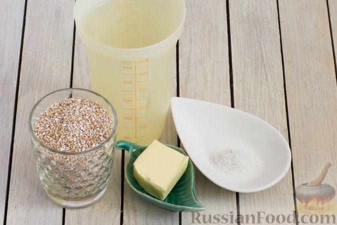 """Фото приготовления рецепта: """"Жареная"""" ячневая каша на воде - шаг №1"""