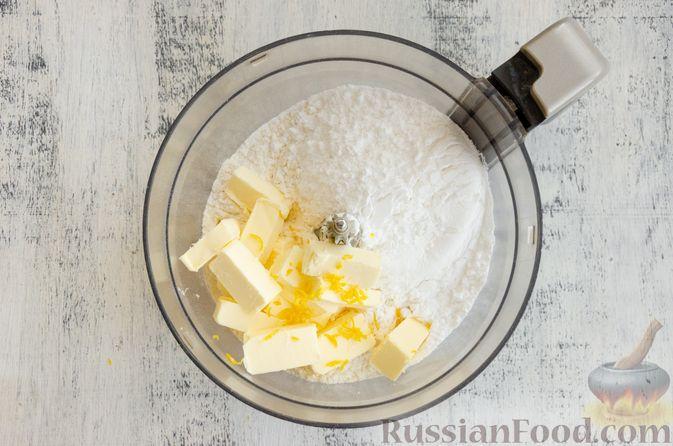 Фото приготовления рецепта: Тарт с франжипаном и виноградом - шаг №2