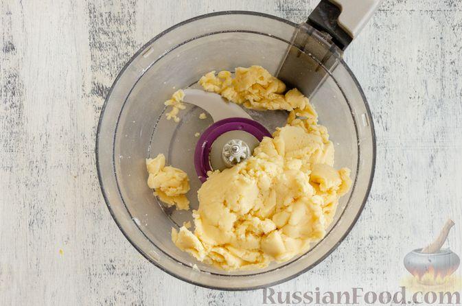 Фото приготовления рецепта: Тарт с франжипаном и виноградом - шаг №5