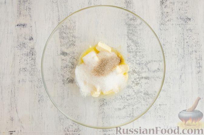 Фото приготовления рецепта: Тарт с франжипаном и виноградом - шаг №9