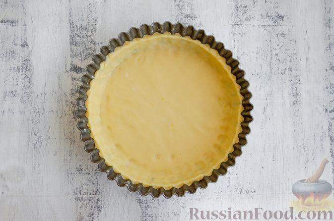 Фото приготовления рецепта: Тарт с франжипаном и виноградом - шаг №15