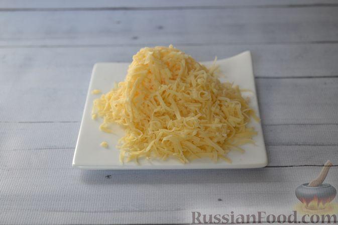 Фото приготовления рецепта: Тыквенные ньокки со сливочно-сырным соусом с ветчиной - шаг №5