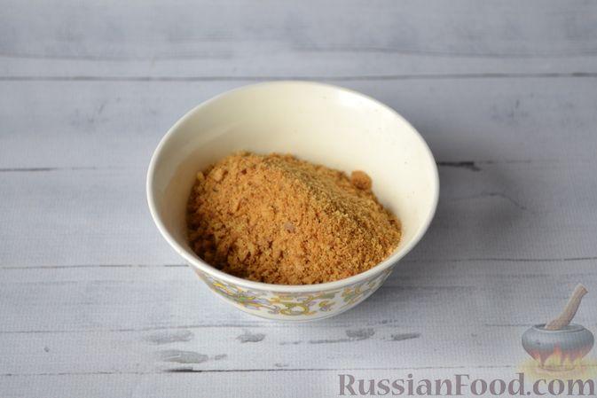 Фото приготовления рецепта: Тыквенные ньокки со сливочно-сырным соусом с ветчиной - шаг №4