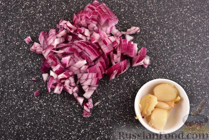 Фото приготовления рецепта: Суп-пюре из запеченной тыквы с имбирем - шаг №4