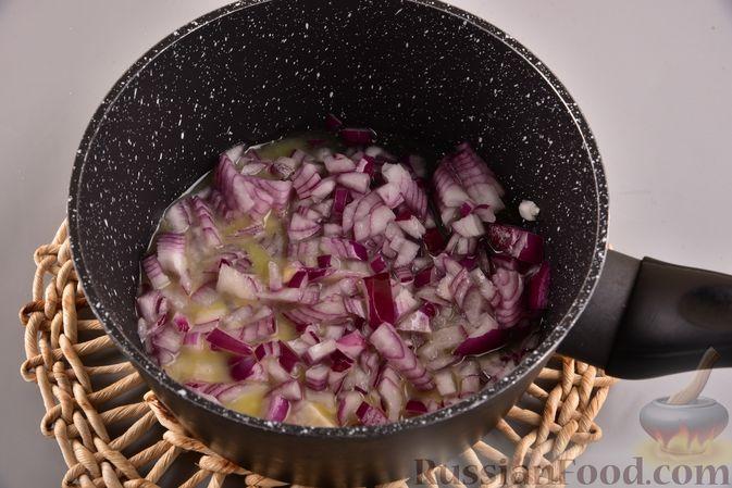 Фото приготовления рецепта: Суп-пюре из запеченной тыквы с имбирем - шаг №5