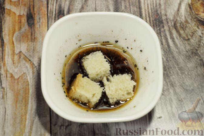 Фото приготовления рецепта: Фасолевый суп с цветной капустой и сухариками - шаг №13