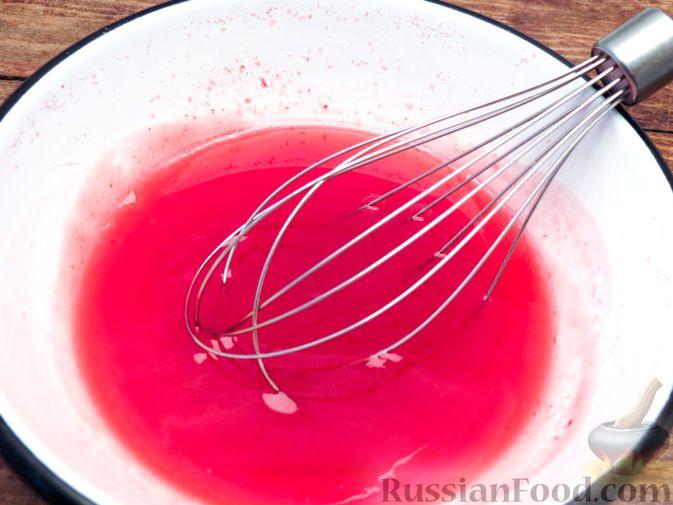 Фото приготовления рецепта: Желе из клюквы - шаг №11