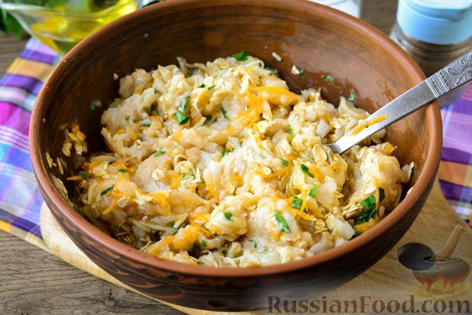 Фото приготовления рецепта: Куриные тефтели с тыквой и сыром в томатном соусе - шаг №10