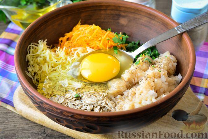 Фото приготовления рецепта: Куриные тефтели с тыквой и сыром в томатном соусе - шаг №9