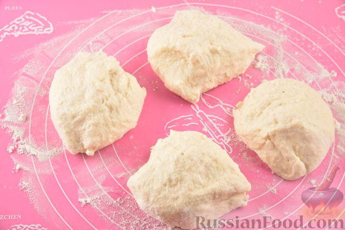 Фото приготовления рецепта: Плацинды с тыквой (в духовке) - шаг №7