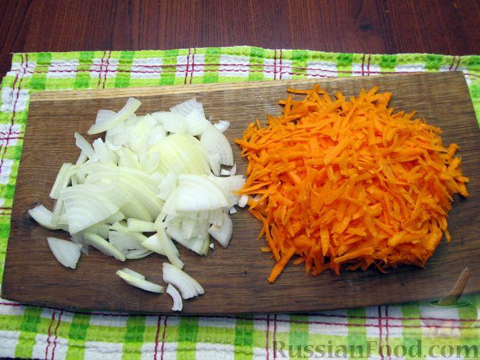 Фото приготовления рецепта: Рассольник с курицей - шаг №5