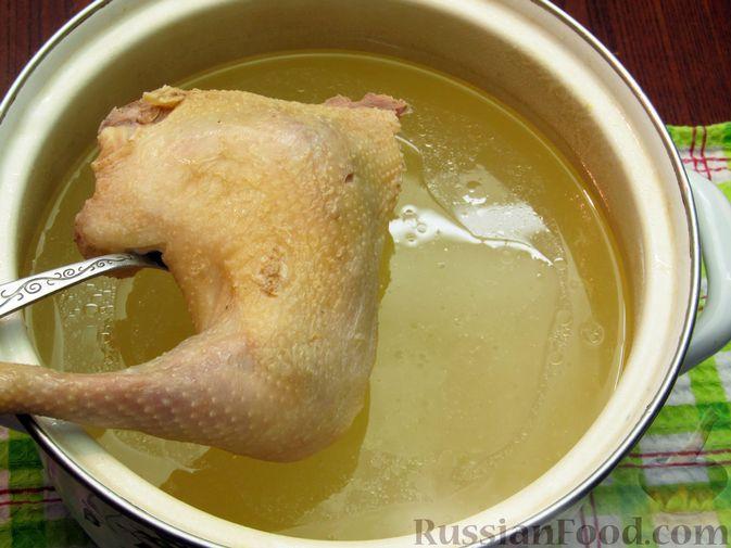 Фото приготовления рецепта: Рассольник с курицей - шаг №13
