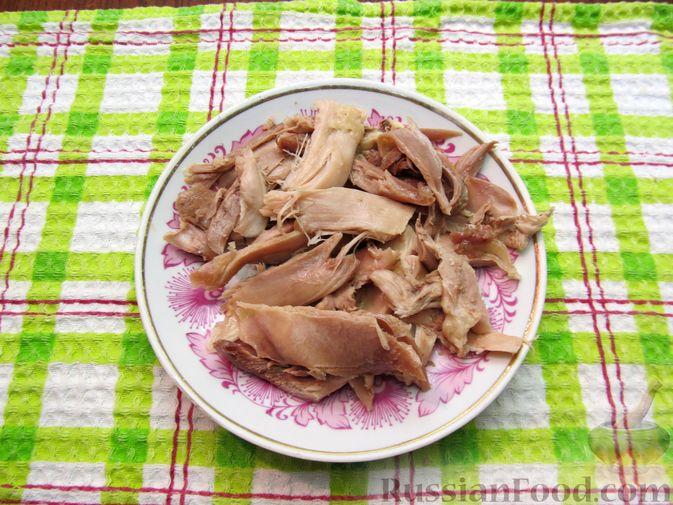 Фото приготовления рецепта: Рассольник с курицей - шаг №14