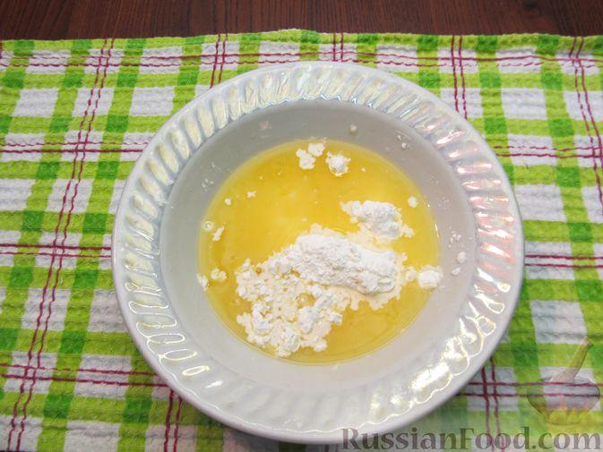 Фото приготовления рецепта: Тыквенный рахат-лукум с апельсиновым соком, цедрой и кокосовой стружкой - шаг №6
