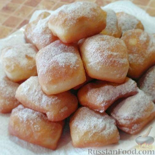 Фото к рецепту: Новоорлеанские пончики