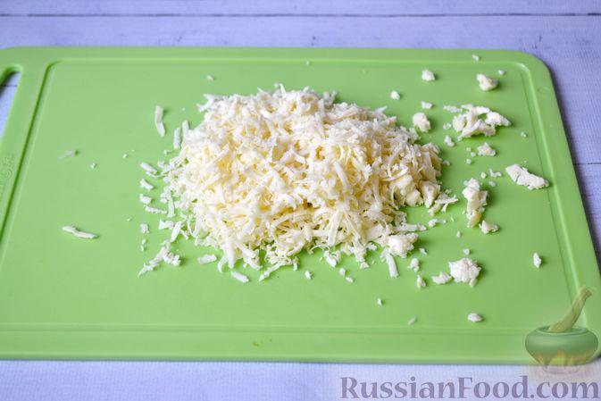 Фото приготовления рецепта: Запеканка из тыквы с мясным фаршем и помидорами - шаг №13