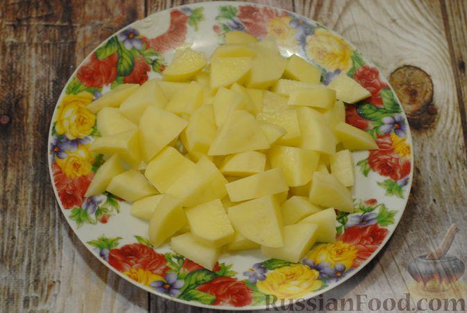 Фото приготовления рецепта: Говяжий суп со сметаной и хреном - шаг №5