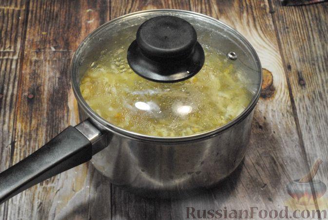 Фото приготовления рецепта: Говяжий суп со сметаной и хреном - шаг №10