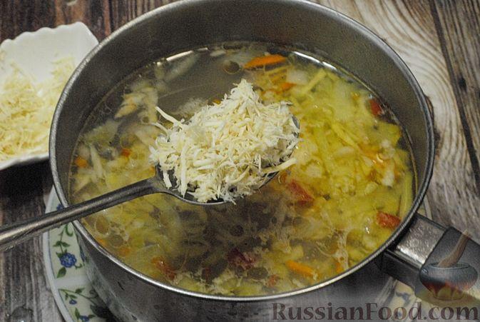 Фото приготовления рецепта: Говяжий суп со сметаной и хреном - шаг №12