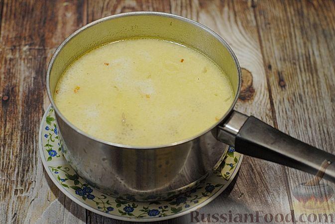 Фото приготовления рецепта: Говяжий суп со сметаной и хреном - шаг №13