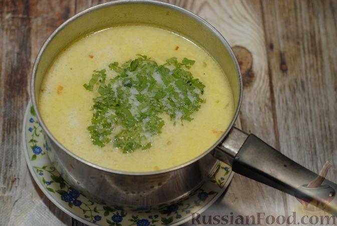 Фото приготовления рецепта: Говяжий суп со сметаной и хреном - шаг №14