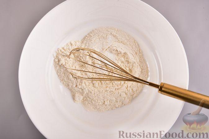 Фото приготовления рецепта: Творожный бездрожжевой хлеб - шаг №2