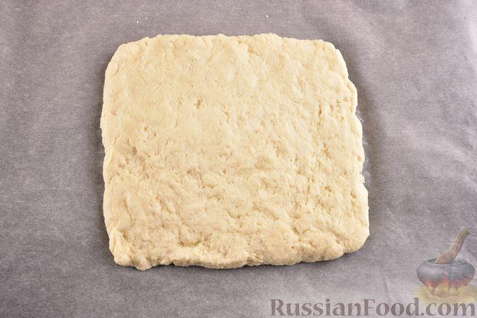Фото приготовления рецепта: Творожный бездрожжевой хлеб - шаг №7