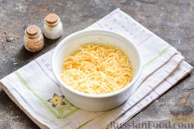 Фото приготовления рецепта: Рыбный суп с молоком, рисом и сыром - шаг №6