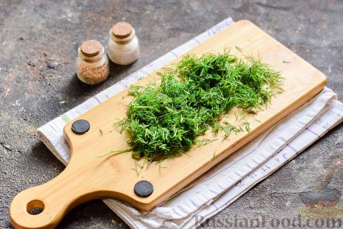 Фото приготовления рецепта: Рыбный суп с молоком, рисом и сыром - шаг №8