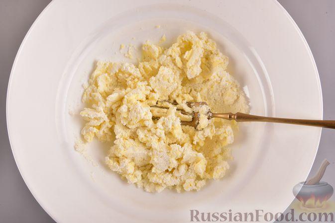 Фото приготовления рецепта: Творожное печенье с кокосовой начинкой - шаг №3