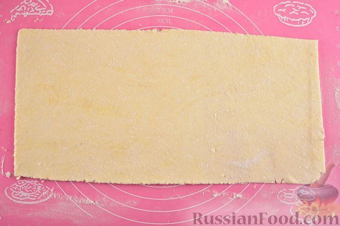 Фото приготовления рецепта: Творожное печенье с кокосовой начинкой - шаг №9
