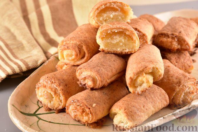 Фото приготовления рецепта: Творожное печенье с кокосовой начинкой - шаг №15