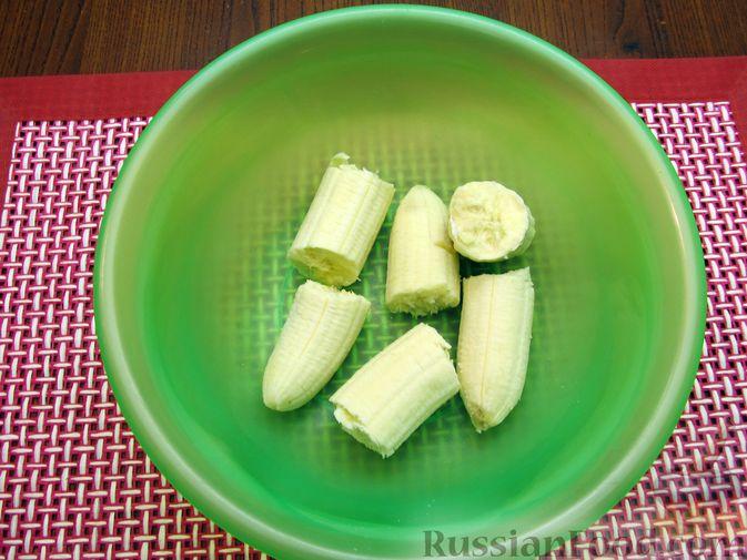 Фото приготовления рецепта: Банановый кекс - шаг №4