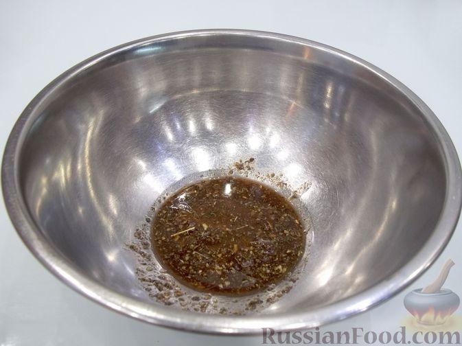 Фото приготовления рецепта: Картошка, запечённая с тыквой (в микроволновке) - шаг №5