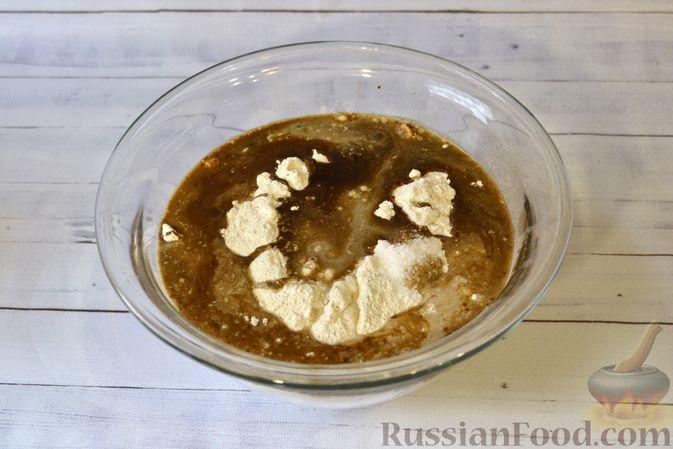 Фото приготовления рецепта: Ржаные хлебцы - шаг №4