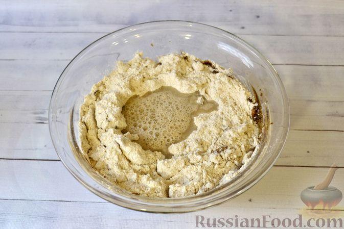Фото приготовления рецепта: Ржаные хлебцы - шаг №5