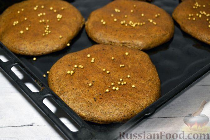 Фото приготовления рецепта: Ржаные хлебцы - шаг №11