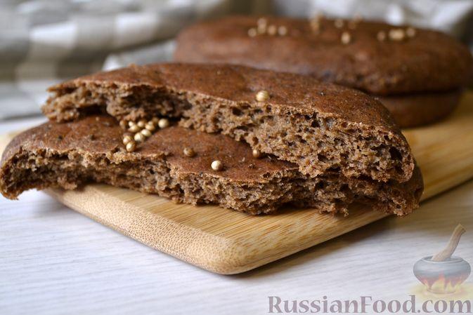 Фото приготовления рецепта: Ржаные хлебцы - шаг №12