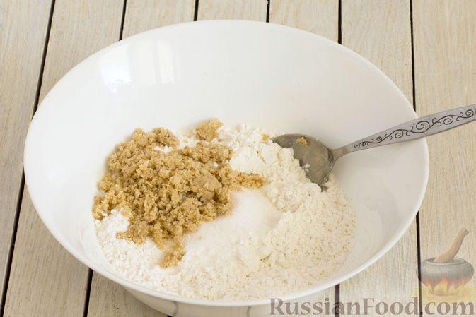 Фото приготовления рецепта: Тарт из песочного теста с яблоками - шаг №3