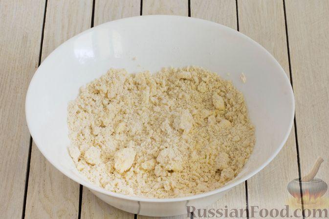 Фото приготовления рецепта: Тарт из песочного теста с яблоками - шаг №4