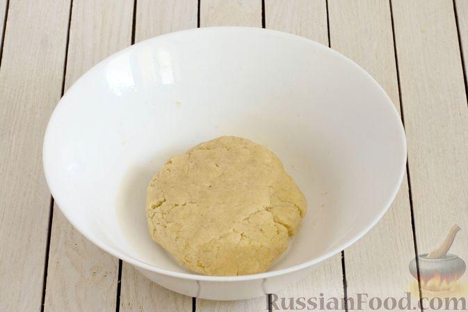 Фото приготовления рецепта: Тарт из песочного теста с яблоками - шаг №5