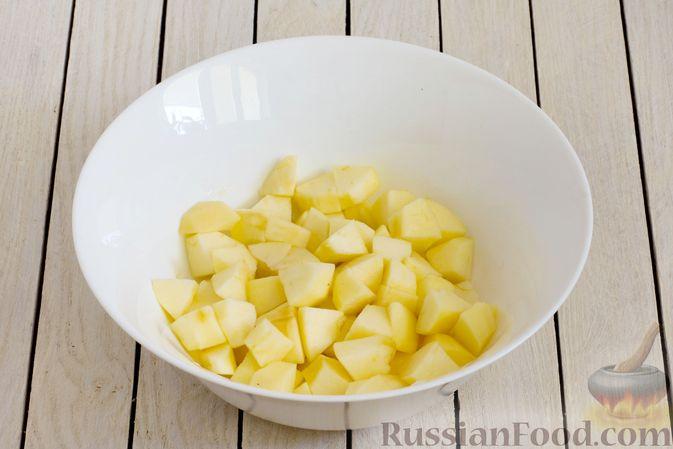 Фото приготовления рецепта: Тарт из песочного теста с яблоками - шаг №6