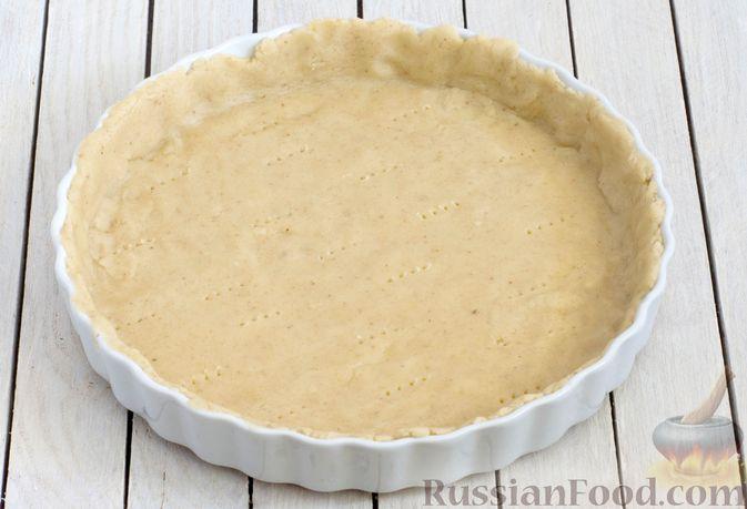 Фото приготовления рецепта: Тарт из песочного теста с яблоками - шаг №13