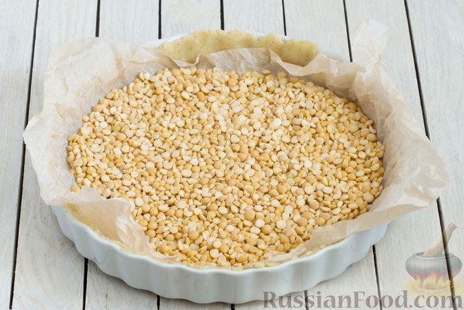 Фото приготовления рецепта: Тарт из песочного теста с яблоками - шаг №14