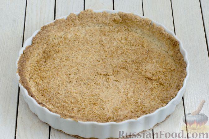 Фото приготовления рецепта: Тарт из песочного теста с яблоками - шаг №15